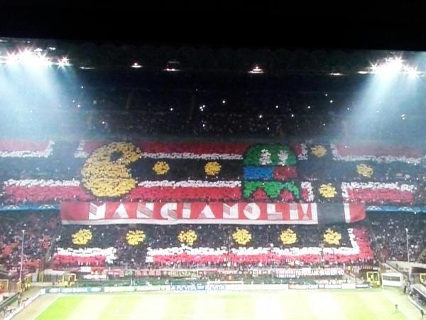 AC Milan - Barcelona Kareografi