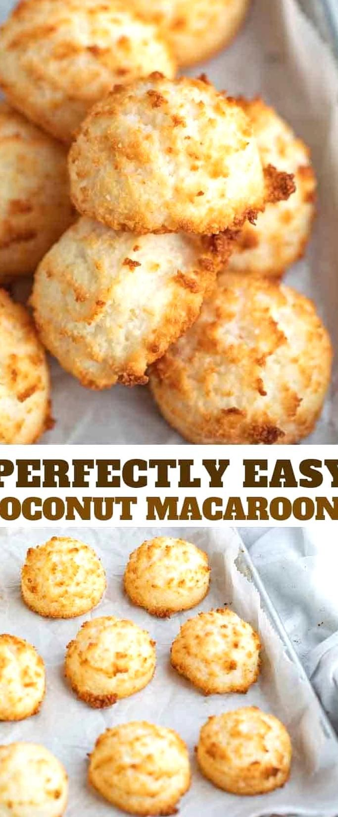 Coconut Macaroons Are Sweet And Chewy Made From Coconut Flakes Sweetened Condensed Milk Almo In 2020 Coconut Cookies Recipes Coconut Macaroons Recipe Coconut Macaroons