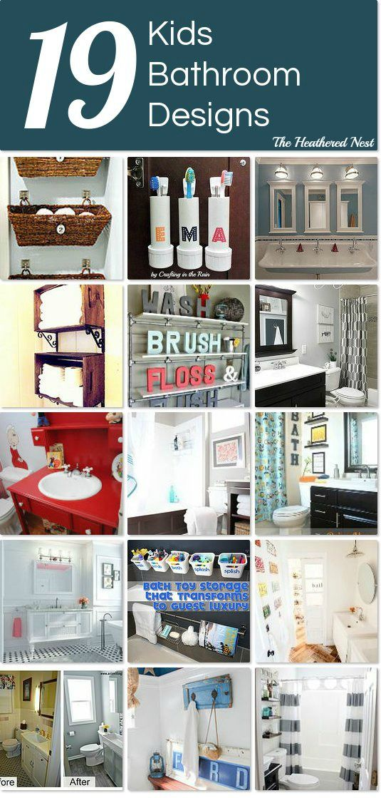 Our 1800 kids diy bathroom reveal kid bathrooms for Children s bathroom designs