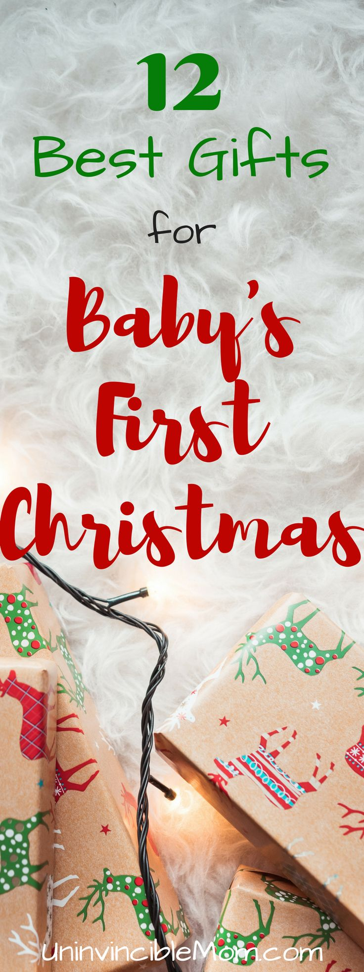 If you are looking for the perfect gift for your baby's first Christmas, check out this comprehensive list of 12 classic and well-loved baby toys...