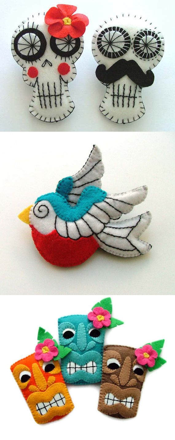 Project Ideas with #Felt. Use #Polymat felt to make DIY crafts. 5/5 STARS on Amazon and eBay!