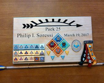 Arrow of light awards, Arrow of light plaque, Arrow of light ceremony, Cub Scout Arrow of light, Webelos Arrow of light, Scout Award Display