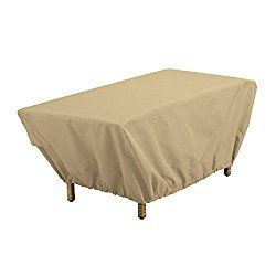 Classic Accessories Terrazzo Rectangular Patio Coffee Table Cover   All  Weather Protection Outdoor Furniture Cover (59962) Part 61