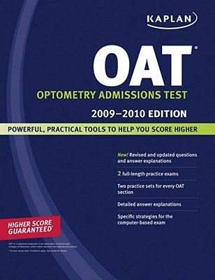 OAT, Optometry Admissions Test.