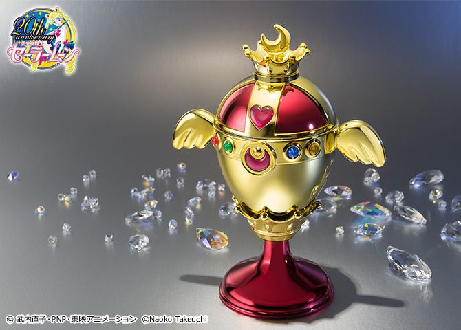 """holy grail"" ""rainbow moon chalice"" ""sailor moon proplica"" proplica bandai anime japan shop ""sailor moon compact"" ""sailor moon wand"""