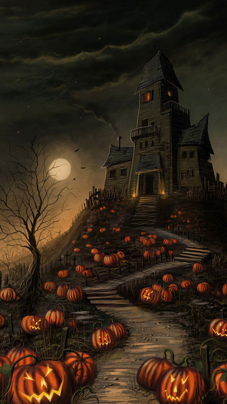 Best 50 iphone 6 halloween wallpapers images on pinterest - Scary wallpaper iphone ...
