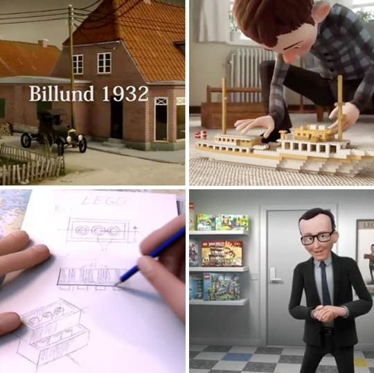 To celebrate their 80th anniversary, LEGO has released this interesting little animated movie to tell the story of how that carpenter, Ole Kirk Christiansen, wasn't afraid to change with the times and risk everything to make his ideas come to life.