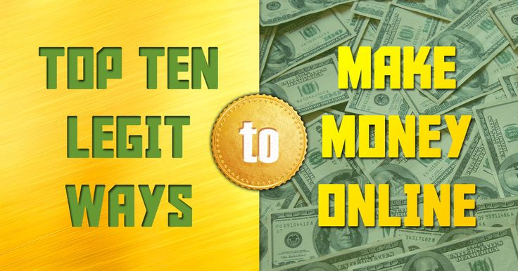 Download the top ten legit ways to make money online and stop wasting your time with gimmicks that don't work. It's time for you to earn money online legit with this guide.