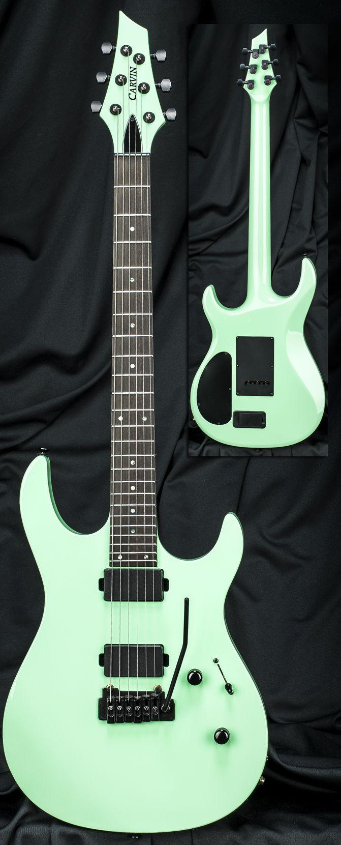carvin dc600t surf green guitars pinterest surf and green. Black Bedroom Furniture Sets. Home Design Ideas