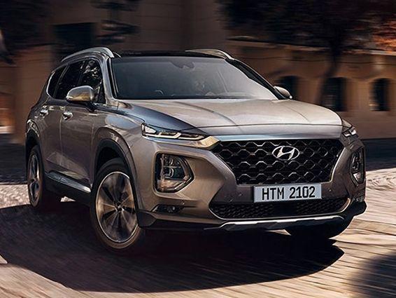 2019 Hyundai Santa Fe Hyundai Santa Fe Hyundai Cars Hyundai Suv