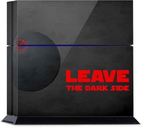 leave the dark side PlayStation by Sylwia Borkowska | Nuvango