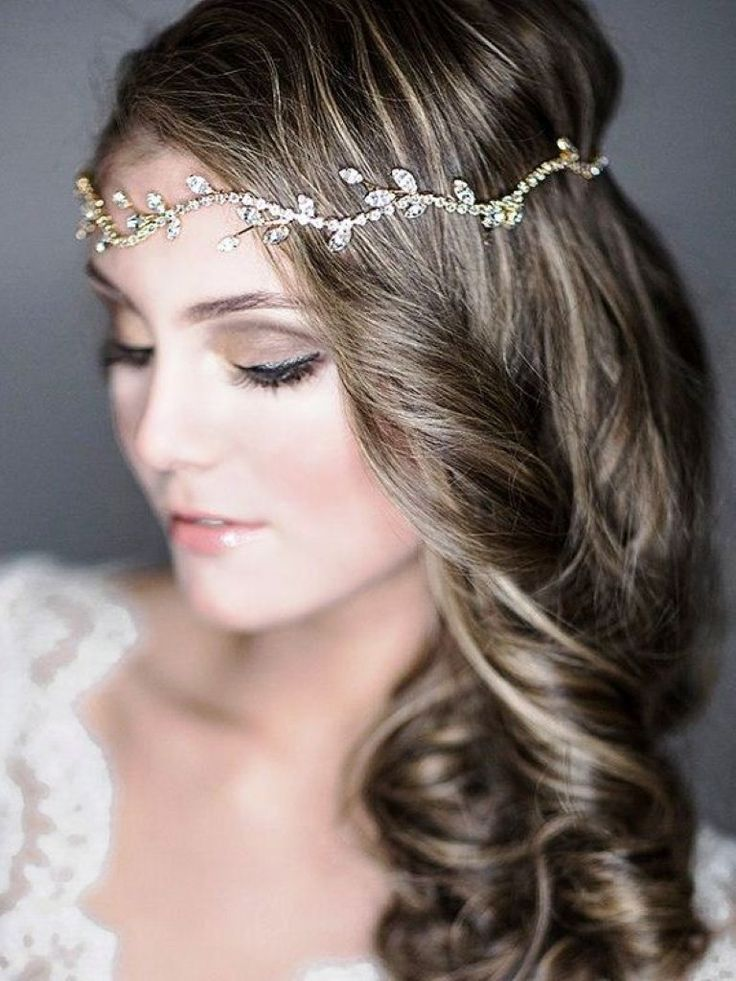 Medium length hairstyle for a wedding The medium length hairstyle for a wedding …