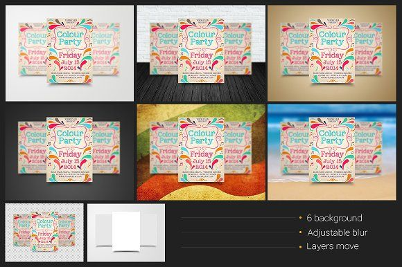 A3 / A4 / A5 Poster / Flyer Mockups by shaman on Creative Market