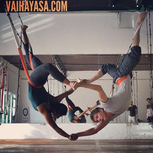 Foto by Rafael Martinez , Creator Of the AeroYoga System: ...WITH OUR AEROYOGA #SWING, DURING THE OFFICIAL INTERNATIONAL #AEROYOGA Tm #TEACHERS TRAINING- FOLLOW US ON WWW.AEROYOGA.US #fly #flying AERIAL YOGA, #aerialyoga #aeroyoga #aerialfitness #yogaswing #swing #acrobatic #acroyoga #teacherstraining #us #usa #diploma #training #workshop #courses #dates #rafaelmartinez #yogaaereo #pilatesaereo #pilates #fitness #wellness #health #beauty #articles #press #tv #web #aerialpilates