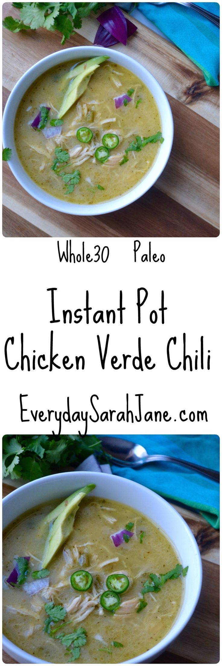 The most delicious #whole30 chili ever!