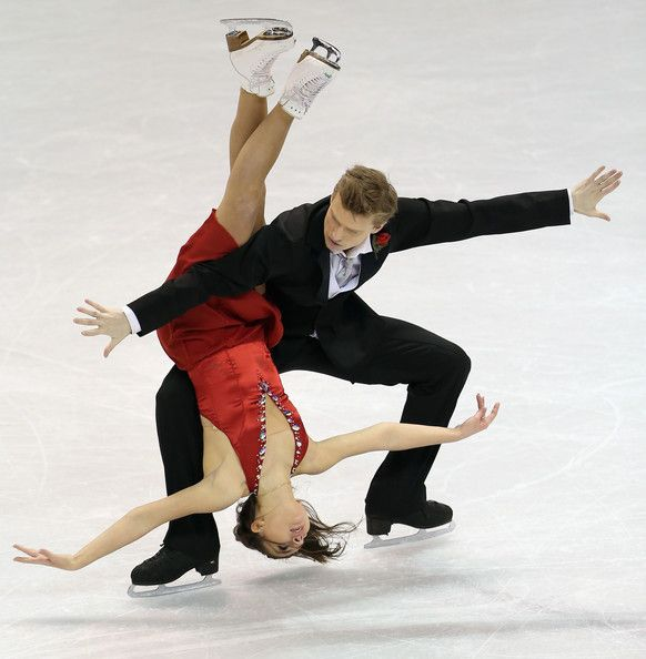 Ilia Tkachenko Ekaterina Riazanova and Ilia Tkachenko of Russia compete in the Ice Dance Free Dance during the 2013 ISU World Figure Skating Championships