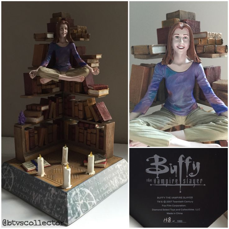 Diamond Select - Essence of Willow Statue - 138/1000.  #btvscollector #btvs #buffy #buffythevampireslayer