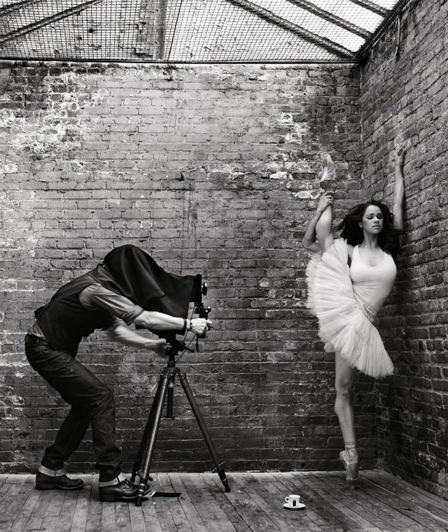 Mark SELIGER :: Self-Portrait for The Lavazzers [Lavazza calendar :: August 2012]