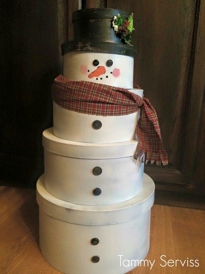 10 Creative Ways To Make A Snowman • Grillo Designs