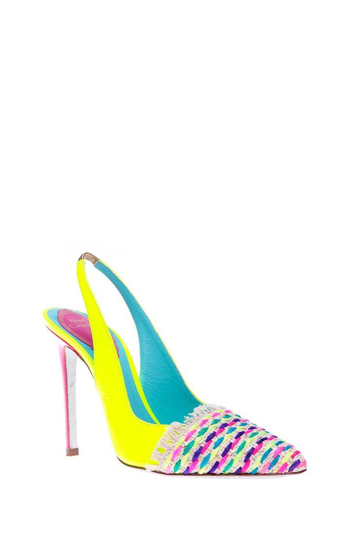 Rene Caovilla - Комбинированные босоножки на высоком каблуке http://oneclub.ua/bosonozhki-39398.html#product_option23