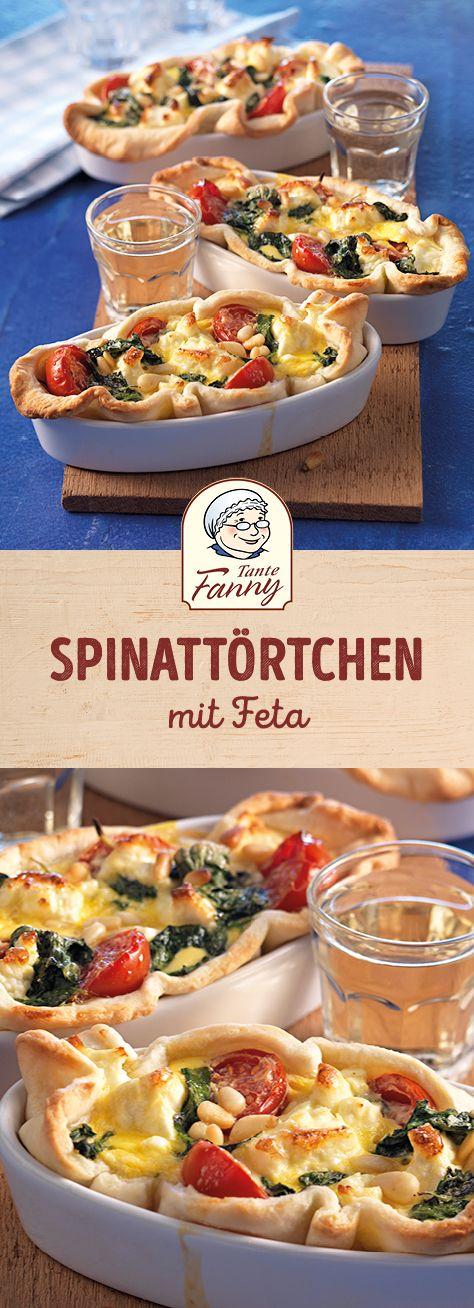 Spinattörtchen mit Feta
