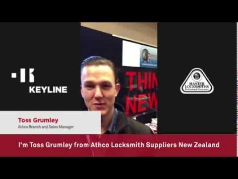 #Keyline in the land of the Maoris #Keyline arrives in New Zealand on the occasion of the #MLAA Trade & Training Weekend in Rotorua. Two exciting days of meetings with Keyline staff and its exemplary #technology in the company of Toss Grumley from #Athco #Locksmith Suppliers, a distributor of #Keyline products in the oceanic country.