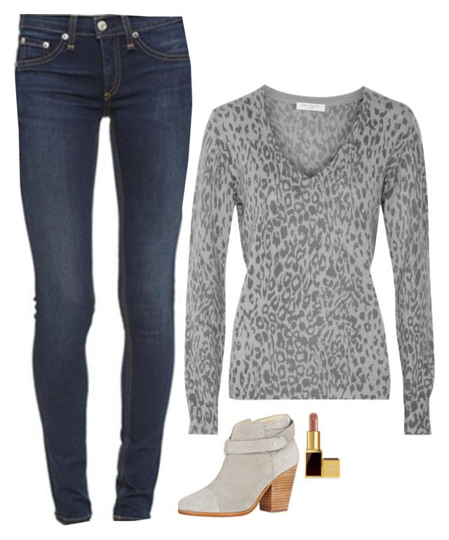 Laurel Lance Inspired Outfit by daniellakresovic on Polyvore featuring polyvore fashion style Equipment Tom Ford clothing