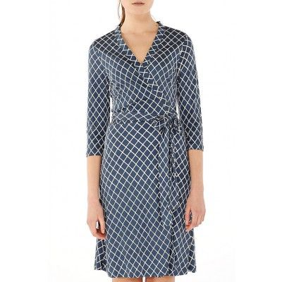 Mayla - Lilian Silk Dress Diamond - Kotyr.com
