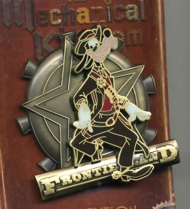 Disney Mechanical Kingdom Goofy Frontierland Pin LE Trading Pin