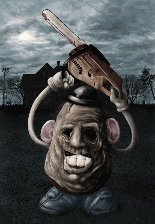 Leatherface -Potatohead