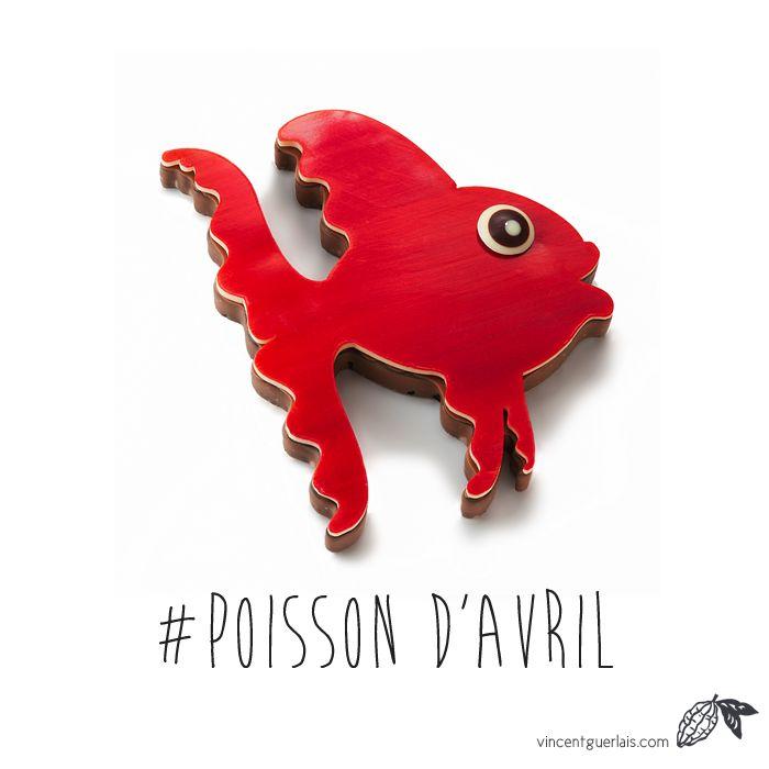 Poisson d'Avril #VincentGuerlais chocolatier Nantes