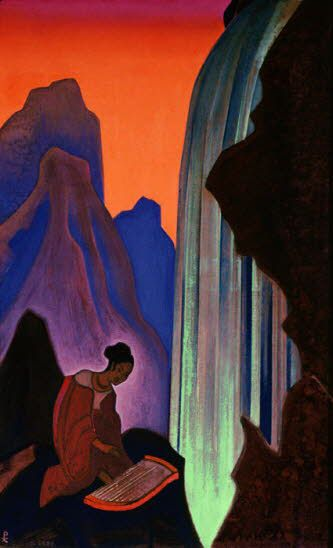 Song of the waterfall, 1937 - Nicholas Roerich