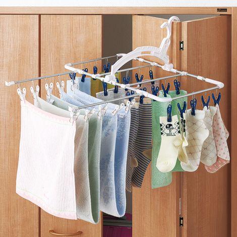 室内干し対応ピンチハンガー 通販 【ニッセン】 洗濯用品 洗濯ハンガー・ピンチハンガー