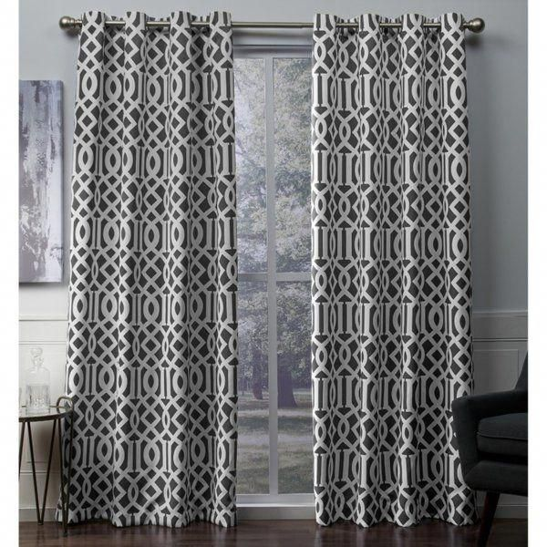You Ll Love The Scrollwork Geometric Blackout Thermal Grommet