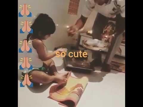 Manchu Lakshmin Daughter Vidya Nirvana video | Vidya Nirvana manchu Earl...