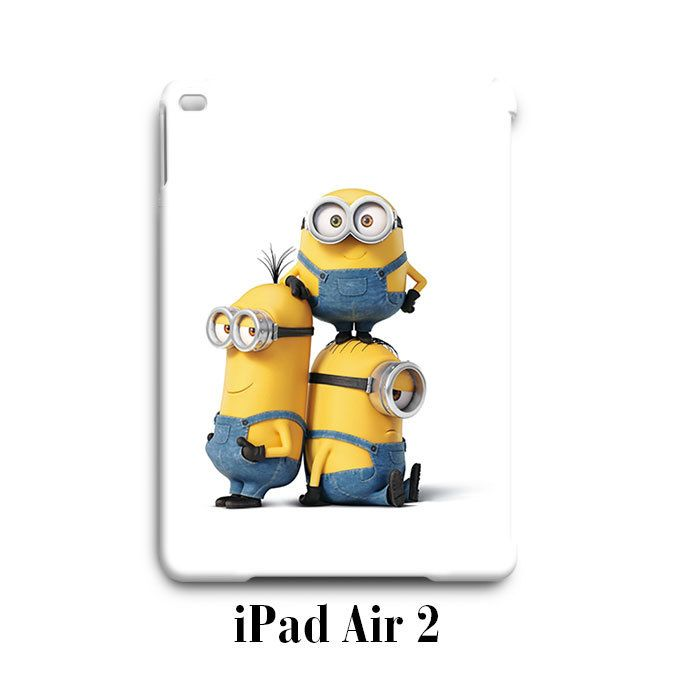 Funny Despicable Me Minions iPad Air 2 Case Cover Wrap Around