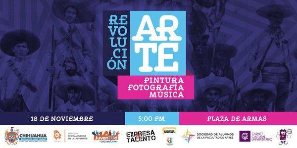 Invita Gobierno Municipal a evento RevolucionArte | El Puntero