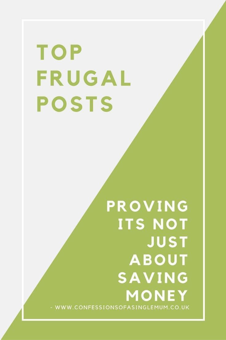 Top Frugal Posts http://www.confessionsofasinglemum.co.uk/top-frugal-posts/