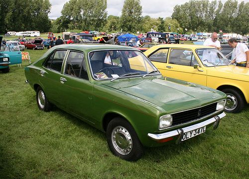 Hillman Avenger (1973), fourth car owned, ours was a sort of shitty grey with a black vinyl roof, got trashed when a drunk motorcyclist crashed into it when it was parked outside the house!
