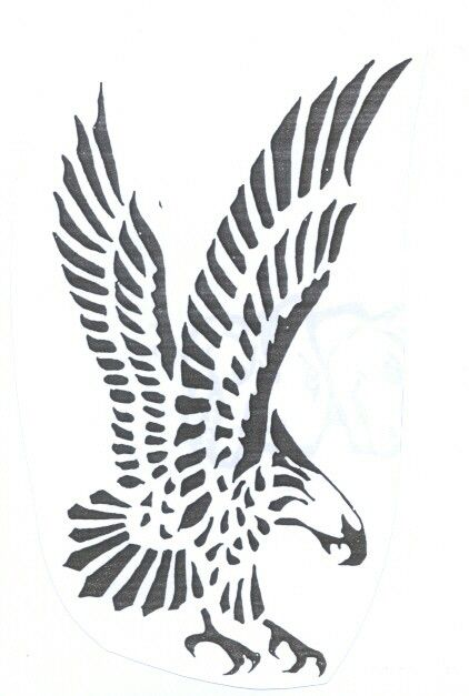 Diving Eagle Tattoo