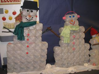 how to build an igloo out of milk jugs - Google Search