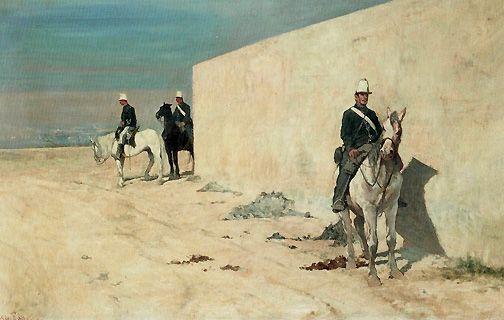 La Sentinelle - 1871 - Giovanni Fattori - (Collection Particulière)