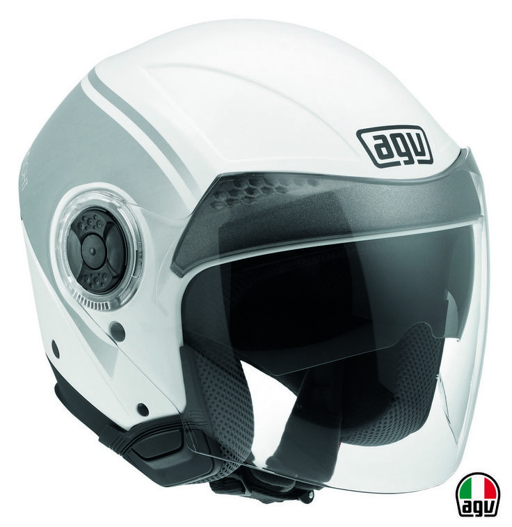 AGV New Citylight - Urbanrace White/Black/Gunmetal