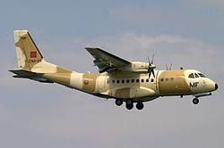 CN-235-100M de la Real Fuerza Aérea Marroquí.