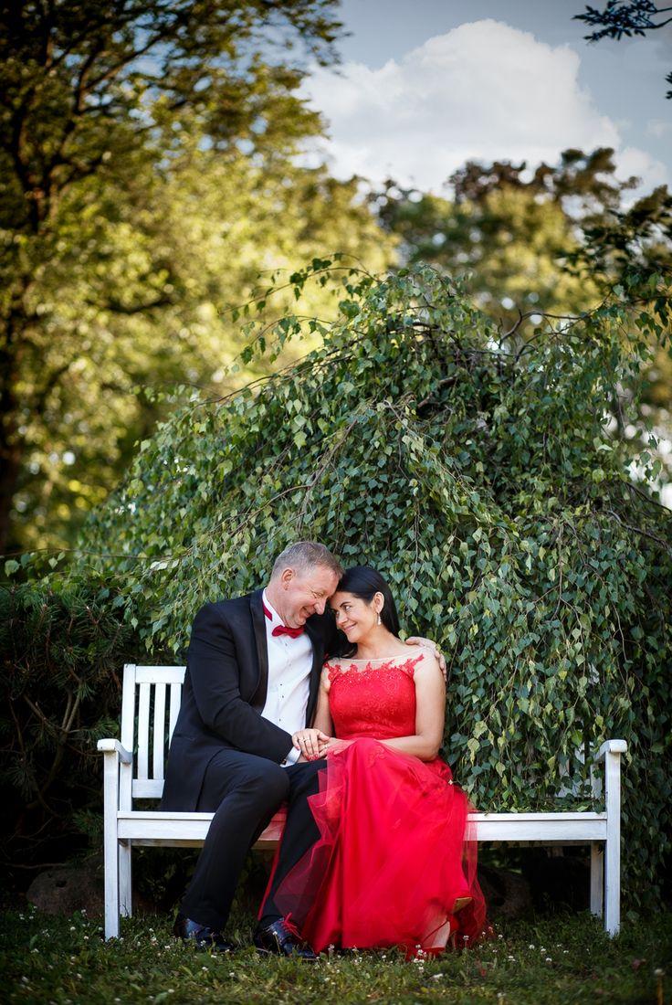 ślub w ogrodzie ślub dworek nad regą