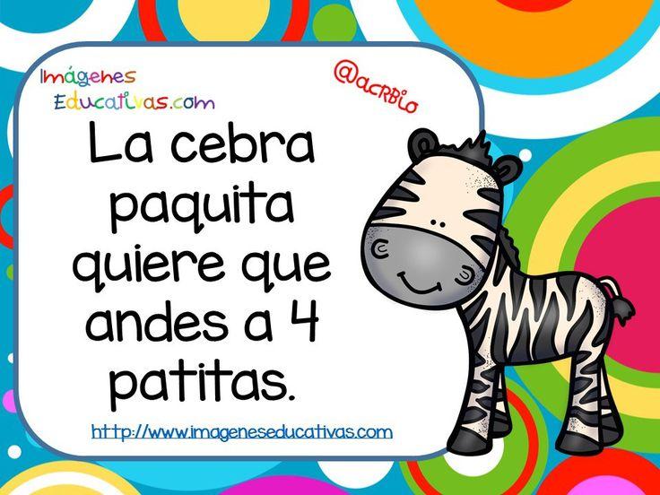 Frases para ejercicios psicomotrices baby zoo (2)