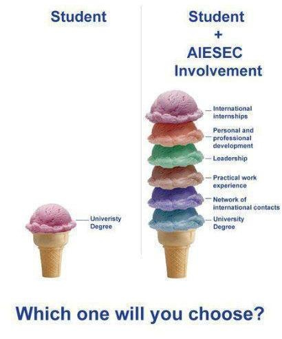 Proudly Im an AIESECer!