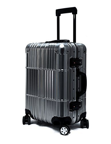New Trending Luggage: Cloud 9 - All Aluminum Luxury Hard Case Carry-On 20 Durable with 360 Degree 4 Wheel Spinner TSA Approved. Cloud 9 – All Aluminum Luxury Hard Case Carry-On 20″ Durable with 360 Degree 4 Wheel Spinner TSA Approved  Special Offer: $289.99  333 Reviews Cloud 9 brings you a high quality carry on luggage/suitcase for all your travel needs, fits perfectly into the sizer at the...