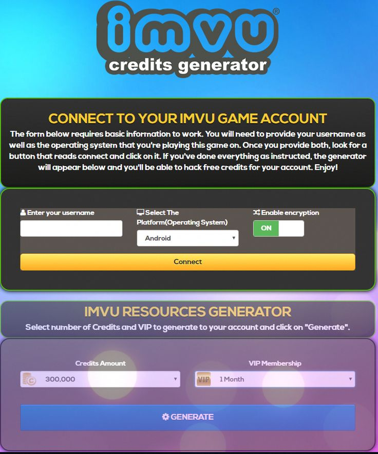 Imvu credits hack how to get unlimited credits and
