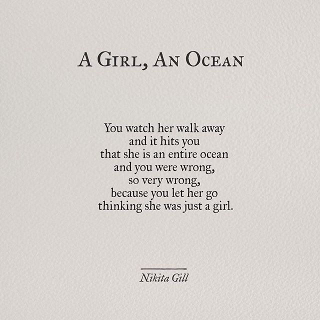 Yes, you let an entire ocean go.